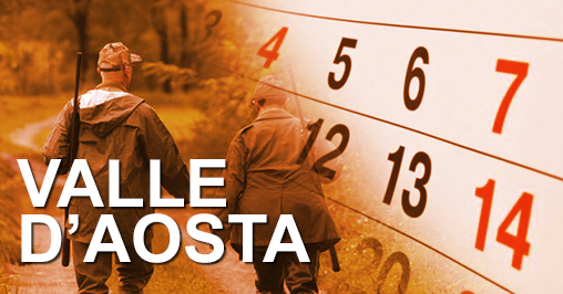 Calendario Venatorio Valle D'Aosta